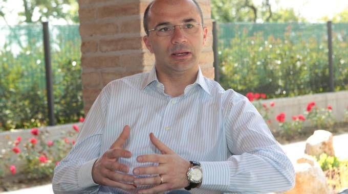 Il sindaco Luca Vecchi
