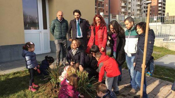 Piante Expo in una scuola del quartiere Rubattino