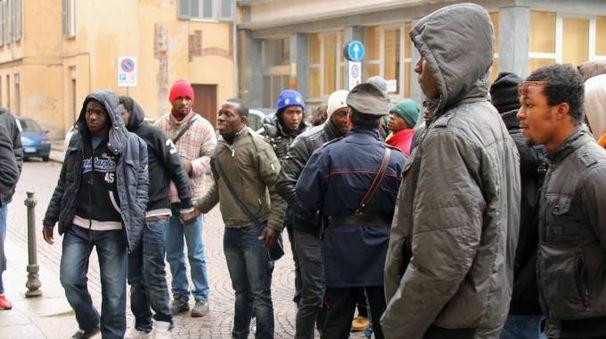 Alcuni migranti