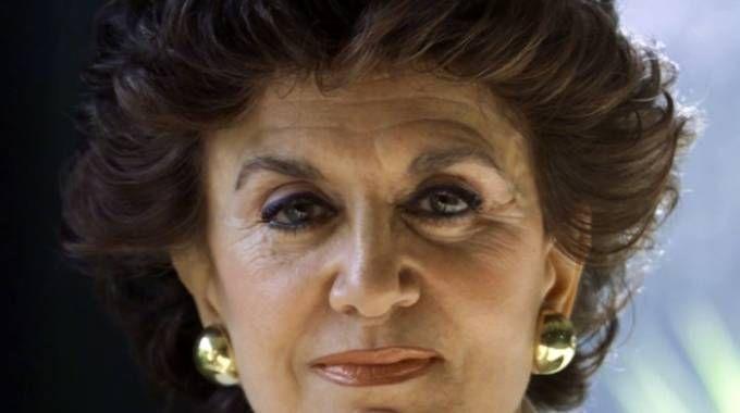 Franca Leosini e le sua 'Storie maledette' in tv (Ansa)