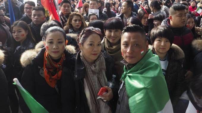 Un gruppo di cinesi