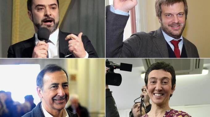 Primarie Pd, i quattro candidati
