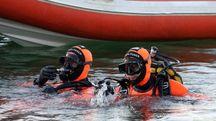 I sommozzatori dei vigili del fuoco (Foto di repertorio Germogli)