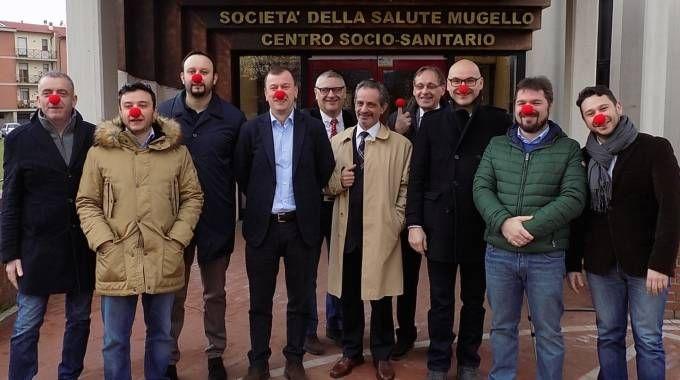 I sindaci del Mugello si vaccinano contro la meningite (Foto Guidotti)