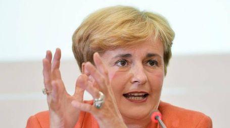 Federica Guidi, Ministro dello sviluppo economico, in una recente immagine d'archivio. ANSA/ ALESSANDRO DI MARCO