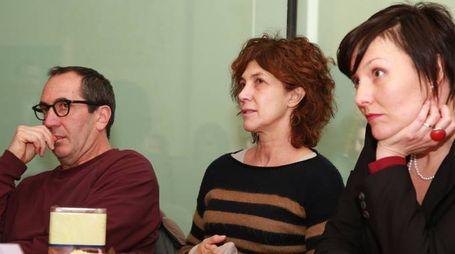 Imola - Conferenza Nudi e Crudi - Paolo Calabresi e Maria Amelia Monti
