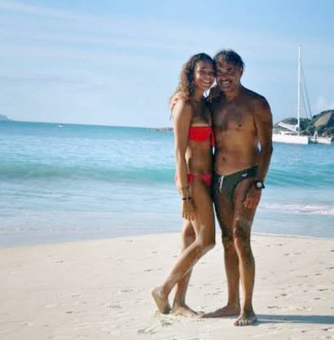 Con la compagna Foto Frascatore