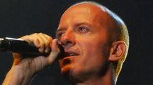 Il cantante Raf