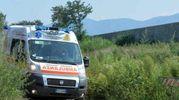 Un'ambulanza
