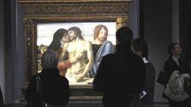 Visitatori alla Pinacoteca di Brera