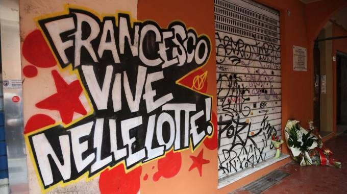 Un'immagine della commemorazione di Francesco Lorusso dello scorso anno
