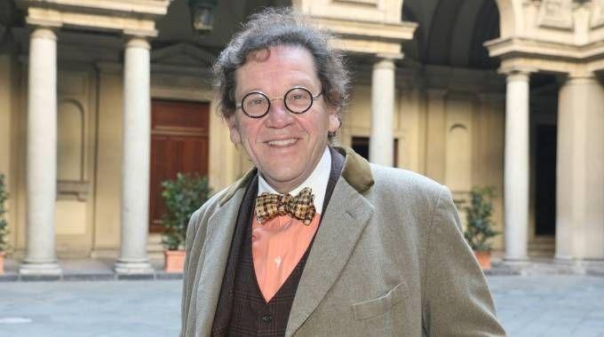 Il critico d'arte Philippe Daverio
