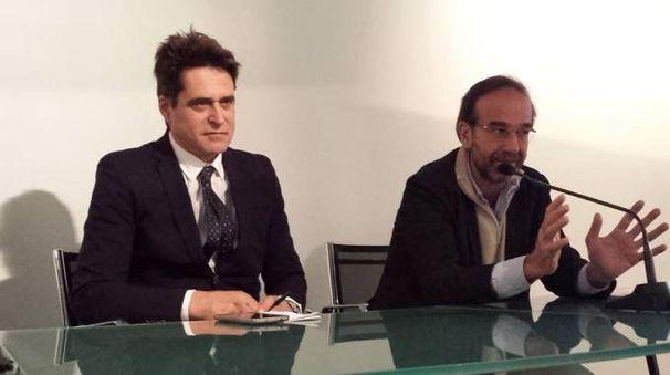 Il vice ministro ai trasporti ed alle infrastrutture Riccardo Nencini, ospite della Cna di