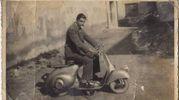 Vespa del 1956, da Eugenio