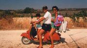 Estate '96, Scicli (Rg). Gianni, Maria Paola e Maria Laura