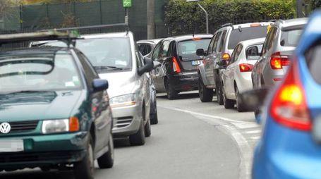 Traffico intenso (Foto d'archivio)