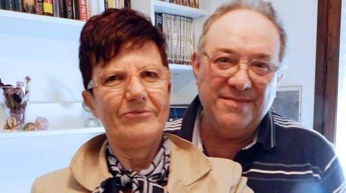 Francesco Seramondi e la moglie Giovanna Ferrari (Fotolive)