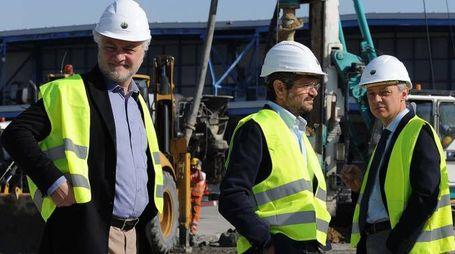 Da sinistra Duccio Caccioni,  Andrea Segré e Alessandro Bonfiglioli