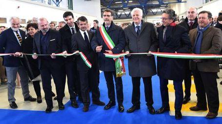 Bologna, l'inaugurazione del mercato ortofrutticolo al Caab (Schicchi)