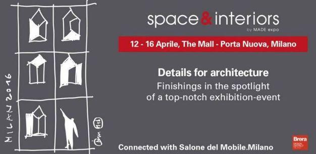 L'evento 'space & interiors' al The Mall