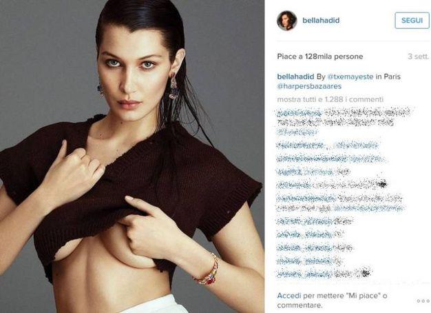 Bella Hadid (Instagram)