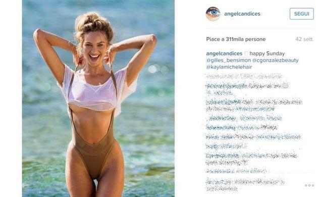 Candice Swanepoel (Instagram)