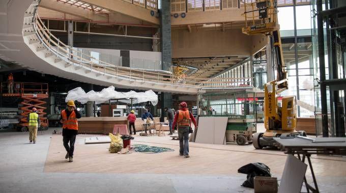 Giorno dopo giorno  ha preso ormai forma la struttura finale dello shopping center più grande d'Europa