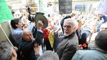 La protesta dei risparmiatori