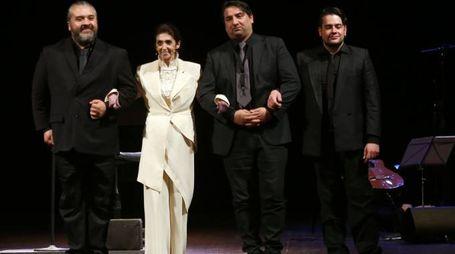 PRESSPHOTO  Firenze, spettacolo di Anna Marchesini al teatro La Pergola. Foto Marco Mori/New Press Photo