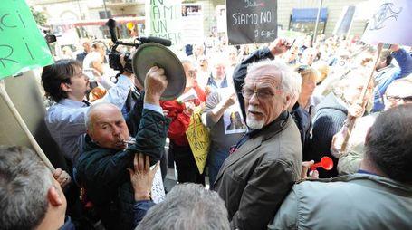 Manifestazione risparmiatori Banca Etruria