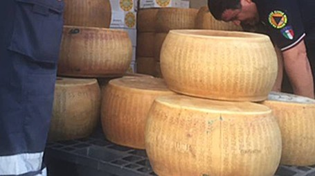 Parmigiano Reggiano rubato