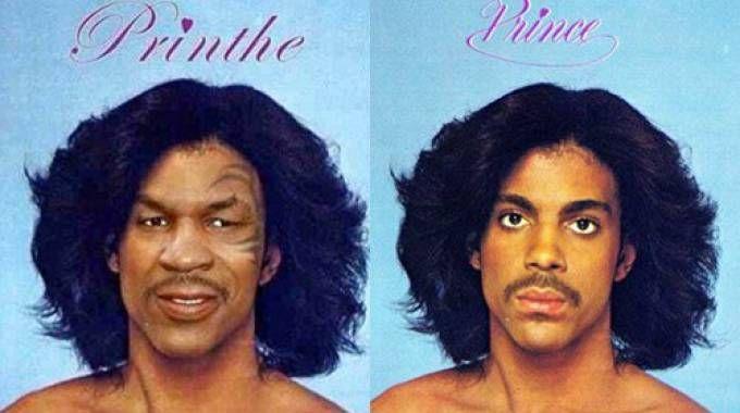 Prince, la caricatura di Mike Tyson