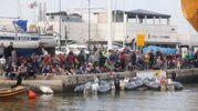 Tantissima gente ha assistito al tradizionale avvenimento (foto Corelli)