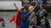 Filippo Giulianini ha vinto la gara tra pescatori (foto Corelli)