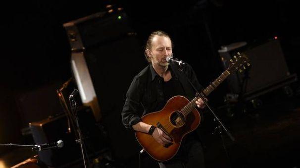 Radiohead, il solista Thom Yorke (AFP)