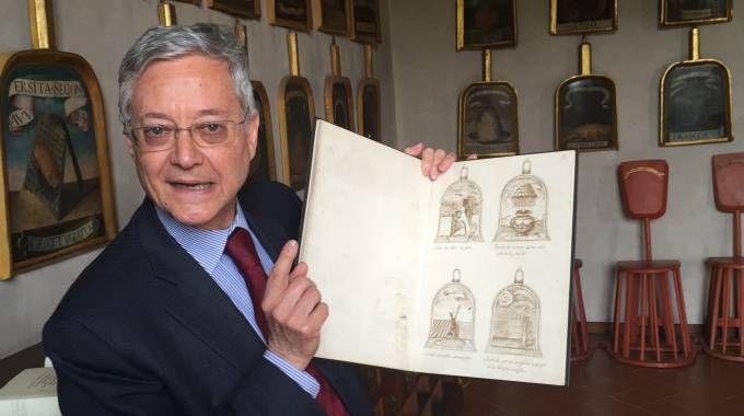 Claudio Marazzini, presidente dell'Accademia della Crusca