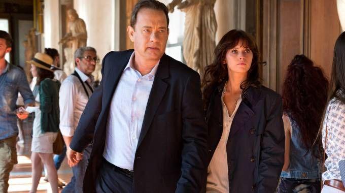 Tom Hanks e Felicity Jones in 'Inferno'
