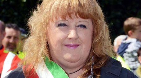 Il sindaco di Torre De' Busi Eleonora Ninkovic (Cardini)