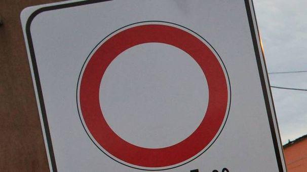 Un cartello di divieto di accesso