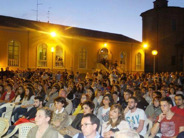 La serata Admo a Novellara (foto Lecci)