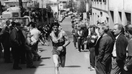 Le foto di una vecchia edizione della maratona del Chianti