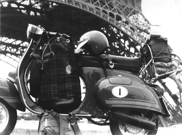 Tommaso Sensini, Arezzo, a Parigi nel 1977