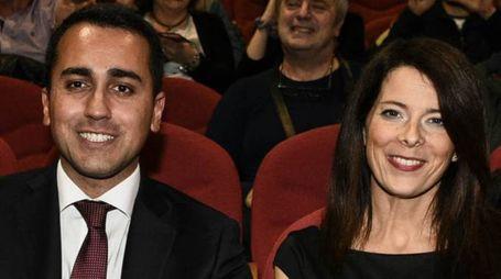 Silvia Virgulti e Luigi Di Maio (Fotogramma)