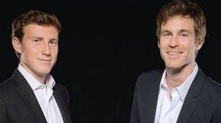 Bruno Riffeser Monti (a sinistra) e Lorenzo Fusina
