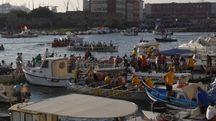 Equipaggi del 'Palio Marinaro' di Livorno