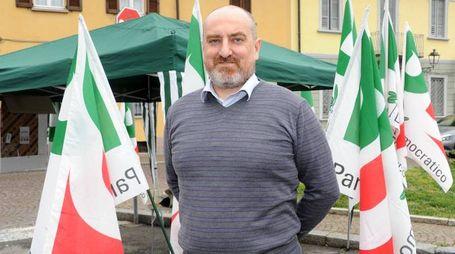 Studio Sally Corbetta - Elezioni amministrative nella foto il candidato sindaco Fulvio Rondena foto Roberto Garavaglia - Studio Sally