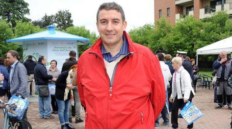 Studio Sally Corbetta - Elezioni amministrative nella foto il candidato sindaco Marco Ballarini foto Roberto Garavaglia - Studio Sally