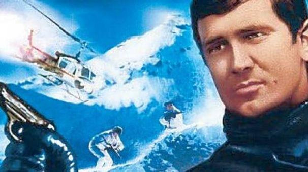 George Lazenby è James Bond nel film 'Agente 007 - Al servizio di Sua Maestà'