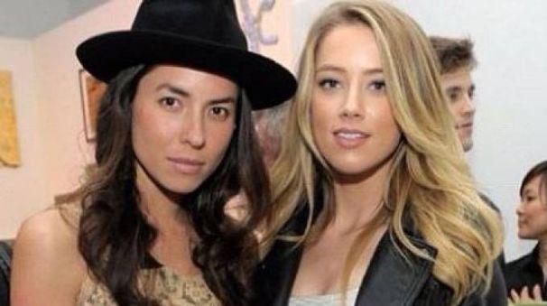 Tasya van Ree e Amber Heard (da instagram)