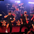 Prophets of Rage: Tom Morello, Tim Commerford e Brad Wilk, Chuck D e B-Real (Afp)